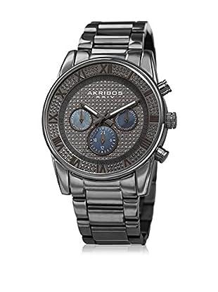 Akribos XXIV Uhr mit schweizer Quarzuhrwerk Man grau 41 mm
