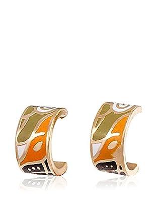 ROSE SALOME JEWELS Ohrringe GE004S vergoldeter Stahl 18 Karat