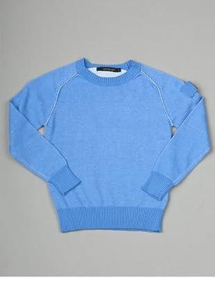 Calvin Klein Jeans Jungen Pullover CBR088 KNQ08 (Hellblau)