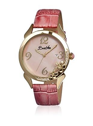 Bertha Uhr mit Japanischem Quarzuhrwerk Daisy rosa 41 mm