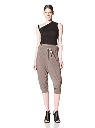 Rick Owens Lilies Women's Cropped Drawstring Pant (Dna Dust)