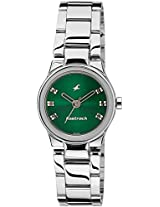 Fastrack Analog Green Dial Women's Watch - 6114SM03