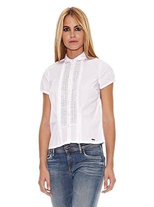 Pepe Jeans London Camisa Mujer Karla (Blanco)