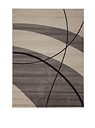 ABC Teppich  grau 120 x 170 cm
