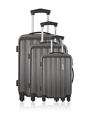 Travel One Set de 3 trolleys rígidos Kilbride