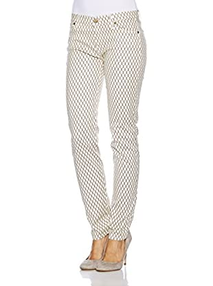 7 For All Mankind Pantalón Lace Print Lace Print