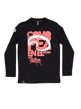 El Niño Camiseta Manga Larga Pez (negro)
