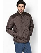 Coffee Quilted Jacket