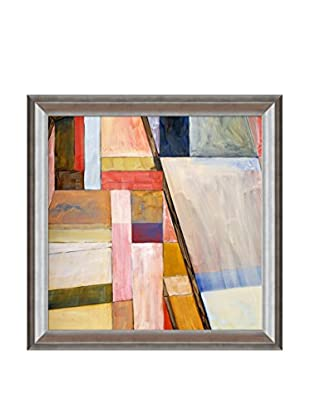 Clive Watts Geometric Abstract Painting Framed Print On Canvas, Multi, 29