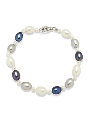 Nova Pearls Copenhagen Bracciale Perle Acqua Dolce 3 - 3,5 / 6 - 6,5 mm