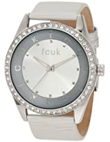 FCUK Analog Silver Dial Women's Watch - FC1073SS