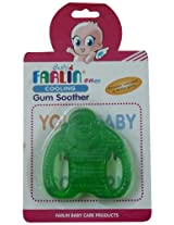 Farlin BF 147 Water Filled Cooling Gum Soother (Green)