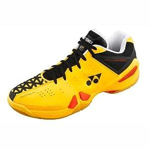 YONEX SHB 01 LTD Badminton Shoes (Flash Yellow) 10