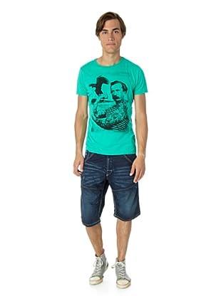 JACK & JONES Camiseta Jack Slim fit (Verde)
