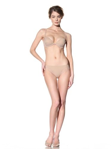 Addiction Women's Mesh Trim Bikini (Nude)