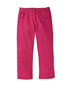 Petite Moon Girl's Star-Studded Jegging (Hot Pink/Black)