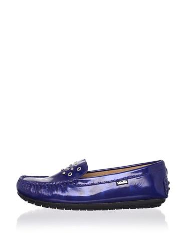 Venettini Kid's Dream Shoe (Toddler/Little Kid/Big Kid) (Cobalt Brush Patent)