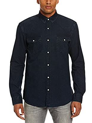 Selected Camisa Hombre Union (Azul Marino)