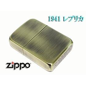 【クリックで詳細表示】Amazon.co.jp   ZIPPO*+しぶーいジッポ+*1941レプリカ 真鍮古美   スポーツ&アウトドア 通販