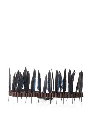 Ann Demeulemeester Women's Feather Tie Belt (Marrone)