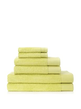 Schlossberg Sensitive 6 Piece Towel Set (Lime)