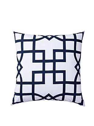 Allem Studio Maze Pillow, Navy