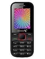 Videocon V1519 Mobile Phone (Black&Red)