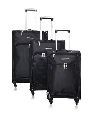 Travel World Set de 3 trolleys semirrígidos 91010/3