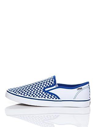 MTNG Zapatillas Elástico (Azul / Blanco)
