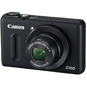 Canon デジタルカメラ PowerShot S100 ブラック
