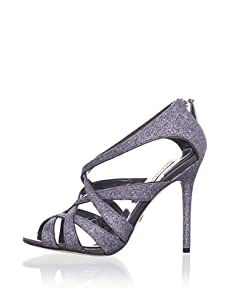 Badgley Mischka Platinum Women's Junebug Sandal (Charcoal)