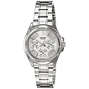 Casio Enticer Analog Silver Dial Women's Watch - LTP-2088D-7AVDF (A934)