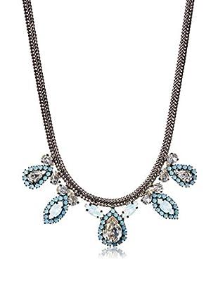 Tova Gunmetal Snowflake Necklace