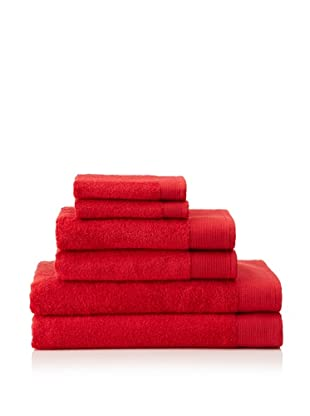 Schlossberg Sensitive 6 Piece Towel Set, Strawberry