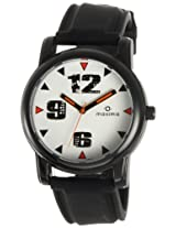 Maxima Avant Garde Analog White Dial Men's Watch - E-28803PAGB