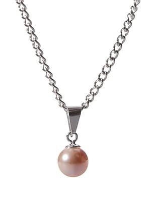 Vip de Luxe Colgante Perlas Melocotón