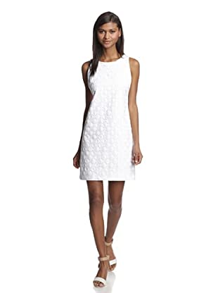 Britt Ryan Women's Shift Dress (White Petunia)