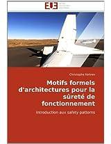 Motifs Formels D'Architectures Pour La Surete de Fonctionnement