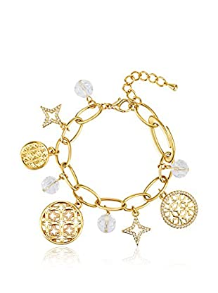 Lilly & Chloe Armband Made with Swarovski® Elements gelbvergoldet