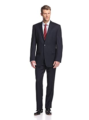 Calvin Klein Men's Malik Solid Suit (Navy)