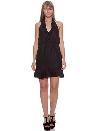 Santa Bárbara Vestido Corto (Negro)