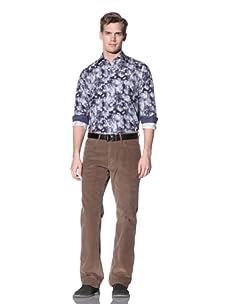 Hickey Freeman Sterling Men's Corduroy Pant (Tan)