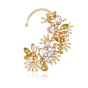Cinderella Stunning Crystal Garden Ear Cuff (for Single Ear)