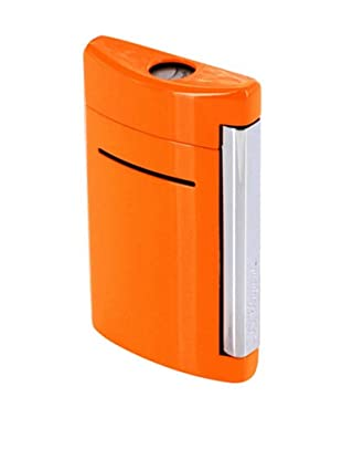 DuPont Lighters Lacquer and Chrome Lighter Excluding Lighter Fluid, Torch Flame, Orange