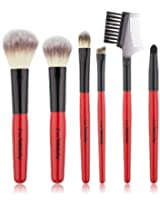 I on Beauty 7 Piece Travel Set, Red Handle