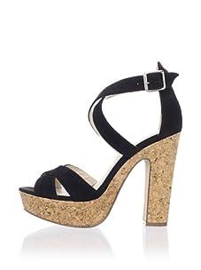 Kelsi Dagger Women's Malyssa Sandal (Black Suede)