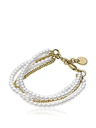 Dyrberg/Kern Armband Magali Sg White silberfarben