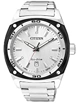 Citizen Analog Watch Silver AW1041 53B