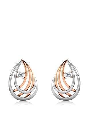 Vittoria Jewels Ohrringe  rosévergoldet