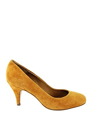 Eye Shoes Zapatos Puntera Redondeada (Ámbar)